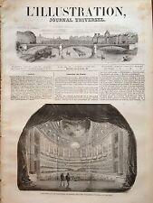 L'ILLUSTRATION 1844 N 68 FÊTE A VERSAILLES PAR LE ROI LOUIS PHILIPPE