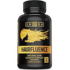 HAIRFLUENCE - All Natural Hair Growth Formula For Stronger, Healthier Hair