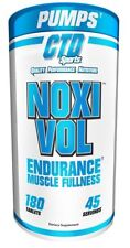CTD Labs NOXIVOL Muscle Growth Strength Vascularity - 180 tablets GET PUMPED