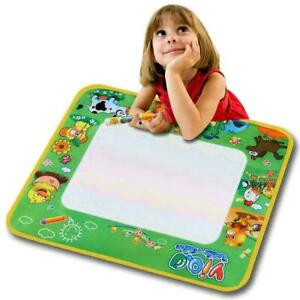 Kinder Wassermatte Malen Wasser Aqua Doodle Matte Schreiben mit Stift 57 x h
