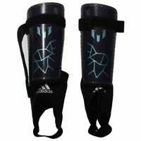 adidas Messi 10 Youth Shin Guards  Athletic Soccer  Shinguards Grey Boys - Size