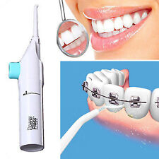 New Unisex Oral Dental Water Jet Power Floss Pick Teeth Beauty Cleaning Flusher