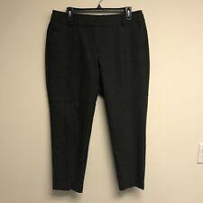 Ann Taylor LOFT Petites Women's Size 10P Julie Trouser Dress Pants Wool Gray