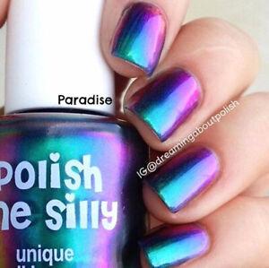 Paradise- AMAZING Mega Multichrome Multi-Color Shifting Polish: Polish Me Silly