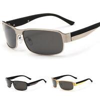 Polarized Men's Retro Metal Frame Outdoor Sunglasses Sports Eyewear Eye Glasses