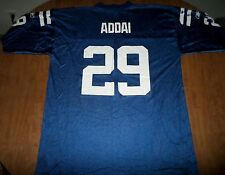 INDIANAPOLIS COLTS Joseph Addai beat-up football jersey XL running back #29