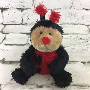 JELLYCAT Leila LADYBUG Tot Plush Beanbag Floppy Stuffed Animal Soft RARE Toy