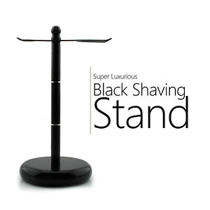 Stainless Steel Shaving Brush's and Safety Razor's Stand Black Color