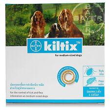 Kiltix Bayer Flea Tick Dog Collar 53cm For Medium Dog 11-20kg Control 5-6 Months