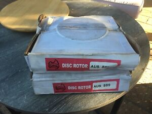 FRONT DISC ROTORS FOR JEEP CHEROKEE KJ DBA889 DR889 AUS889 N.O.S.