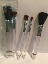 (2)LANCOME 3 Piece Makeup Brush Set - Sealed NEW LOT OF 2