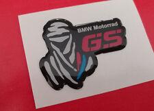 1 Adesivo Resinato Sticker 3D BMW GS Motorrad Dakar 20 mm