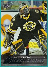 2015-16 Upper Deck Young Guns Rookie card# 211 of Malcolm Subban