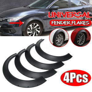 3.9/100mm Flexible Fender Flares Wide Body Wheel Arches For Toyota Corolla Camry