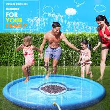 Splash Pad Kids Dog Sprinkler Inflatable Splash Pet Pool Water Outdoor Toy Large