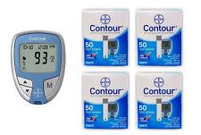 200 Contour Test Strips + Blood Glucose Meter – Full Starter Kit