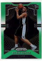 2019-20 Panini Prizm Basketball Keldon Johnson SP Rookie RC Green Prizm #273