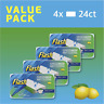 4 Packs Flash Speedmop WET CLOTHS  96 Refills Lemon Speed Mop Refill Giga Pack