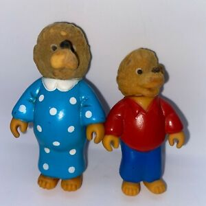 Vintage 1986 Berenstain Bears Family Figures McDonald's Happy Meal Toy