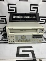 Sony SVO-9500MD Medical S-VHS Hi-Fi Stereo Video Cassette Recorder VCR SVHS