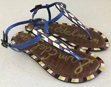 Sam Edelman GIGI 5 Leather Sandals Size 7.5