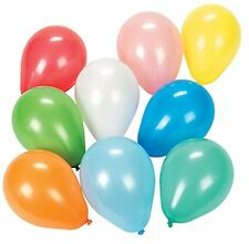 """144 - 5"""" Assorted Color Helium Quality Balloons - Carnival Dart Water Birthday"""