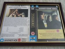 Framed original Vhs sleeve cover big box a4 interiors diane keaton woody allen