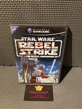 Star Wars Rebel Strike Nintendo Gamecube - with manual
