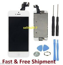 White Iphone 5S LCD Touch Digitizer Glass Screen Assembly with Home Button