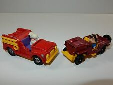 Aviva United Feature Syndicate Lucy & Snoopy Die Cast Cars