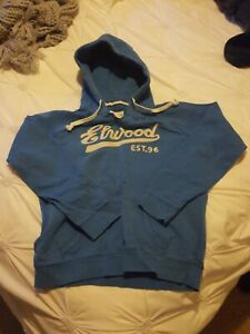 Elwood Royal Blue Hoodie Size M