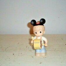 "New ListingPrecious Moments Figurine 2007 Disney Mickey Mouse Club Drummer 5"" Tall No Box"