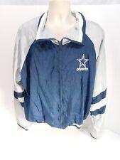 Vintage Locker Line Dallas Cowboys Nylon Jacket Sz XLarge NFL