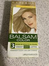Clairol Balsam Permanent Hair Color Dark Blonde 604 Fast Free Shipping