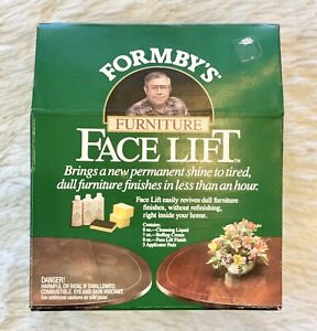 Form-by Furniture Workshop Face Lift Kit New Old Stock Cleanse Buff SEALED *Read
