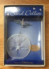 """Legend of the Sand Dollar"" 2002 NIB Roman Inc Holiday Traditions Ornament"