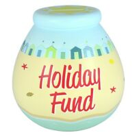 Pot Of Dreams Seaside Holiday Fund Money Pot Box Beach Piggy Bank Birthday Gift