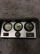 Porsche 924 944 VDO Oil pressure Battery clock instrument gauge dial cluster