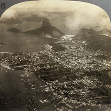 Keystone Stereoview Rio de Janeiro and Sugarloaf, BRAZIL from the 1920's 100 Set
