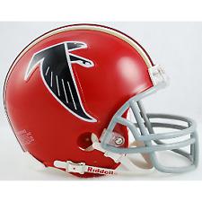 ATLANTA FALCONS ( 1966-69 Throwback) Riddell VSR4 Mini Helmet