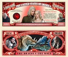 House Targaryen - Game of Thrones TV Series Novelty Money
