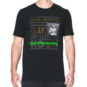 NEW Under Armour Mens UA x Muhammad Ali Collection Champ of Prophecy T-Shirt S