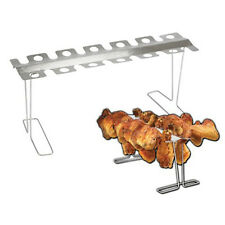 Grill Rack Oven or BBQ Holds 12 Chicken Legs and/or Wings Smokin' Grill