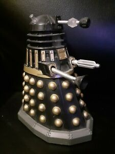 """Rare Doctor Who Black Gold Dalek 5.5"""" Inch Figure Character Options Dr"""