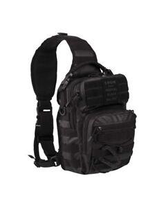 One Strap Assault Pack small Tactical black, Rucksack, Outdoor, Camping -NEU-