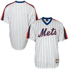 Men's New York Mets Majestic White Cooperstown Cool Base Team Jersey- MEDIUM