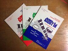 Jump Right In Percussion Book 1, Solo Book 1, Ensemble Book 1,