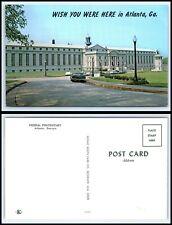 GEORGIA Postcard Atlanta, Wish You Were Here, Federal Penitentiary K50