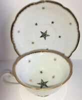 Vintage Masonic Eastern Star Temple Treasures OES Chicago Ceramic Cup & Saucer