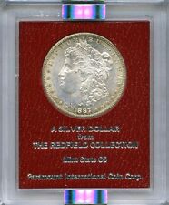 1887-S Redfield Hoard NGC MS63 Red Label Morgan Silver Dollar BU Toned Rare Date